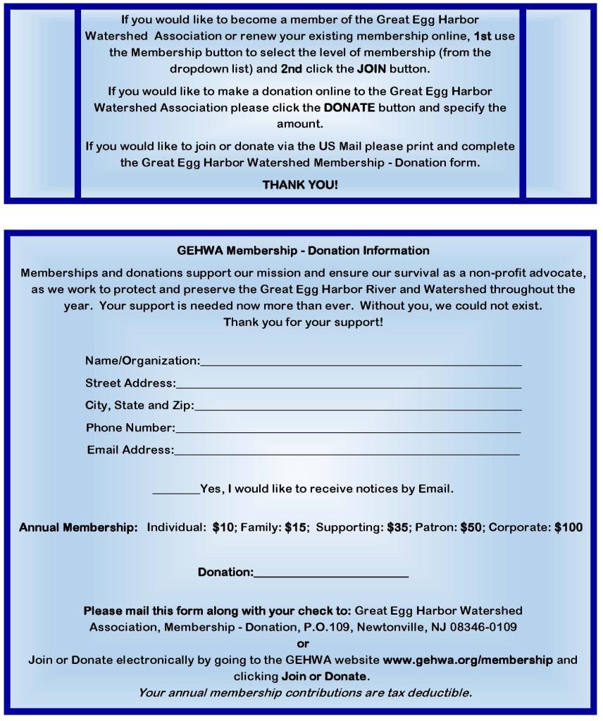 Membership-Donation Form