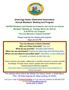 GEHWA Annual Meeting and Program